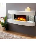 Cheminée électrique murale design Lounge Cheminarte -