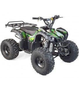 Quad enfant 125cc orange vert ou bleu 4 temps roues 8 pouces Bazou
