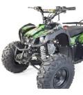 Quad enfant 125cc orange vert ou bleu 4 temps roues 8 pouces Bazou -
