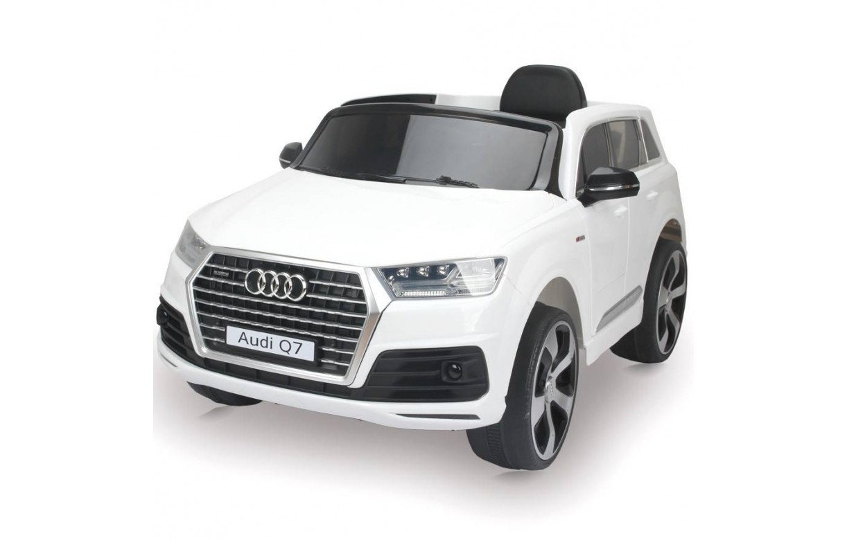 voiture lectrique audi q7 enfant 3ans avec t l commande. Black Bedroom Furniture Sets. Home Design Ideas