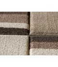 Tapis tons clairs beige et taupe rectangulaire -