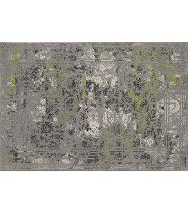 Tapis gris dégradé style vintage 120 x 170 cm -
