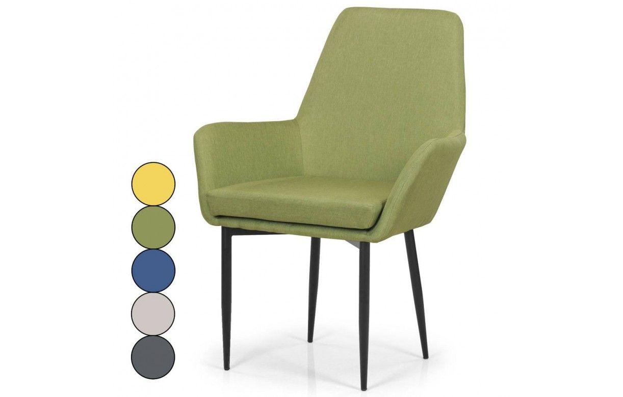 fauteuil de lecture en tissu et pieds noir 5 coloris. Black Bedroom Furniture Sets. Home Design Ideas