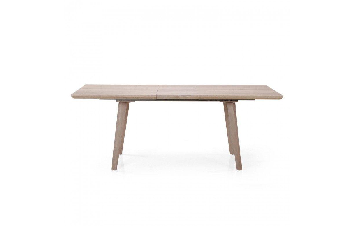 Table De Repas Extensible Bois Clair 160 à 200cm Decome Store