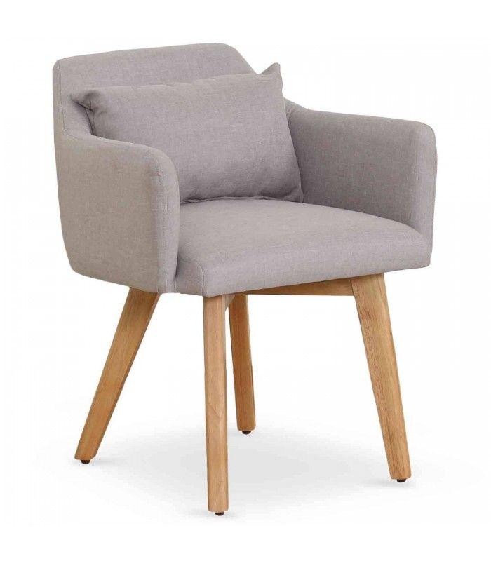 Tissu Chaise Pieds Style Bois Rcxbdoew Scandinave Fauteuil Et En 1c3JFKuTl