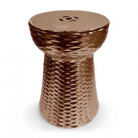 Pouf original en céramique Bouchon -