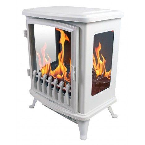 foyer chemin e lectrique blanche flamme 3d fire glass. Black Bedroom Furniture Sets. Home Design Ideas