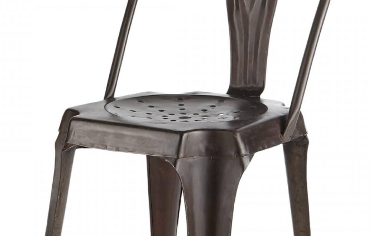 Chaise Empilables Design Industriel En Mtal Vintage