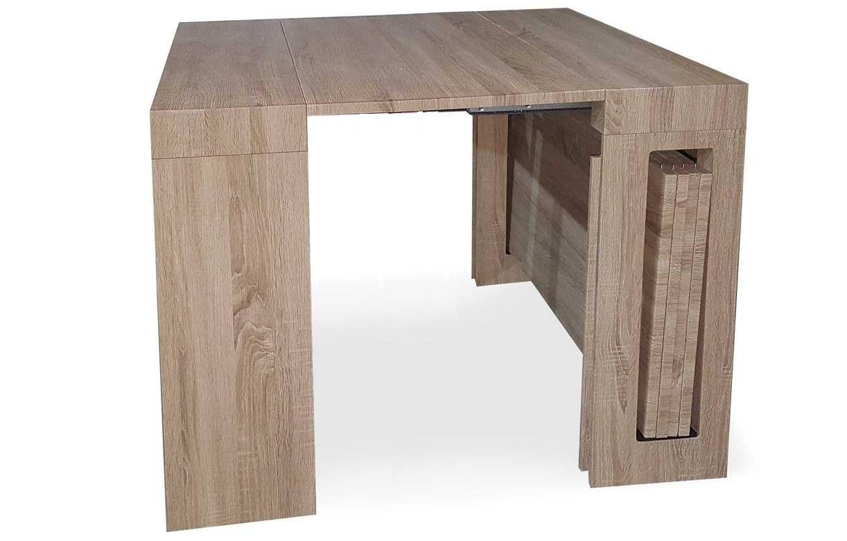 console extensible bois clair 300cm