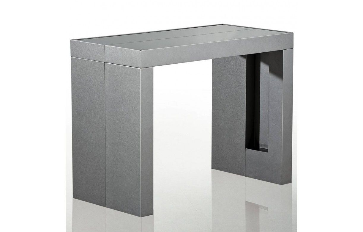 table console extensible avec rallonges intgres cheap console a rallonge table with table. Black Bedroom Furniture Sets. Home Design Ideas
