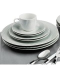 Set de 40 pièces Rayon Motif rayures grises -