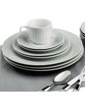 Set de 80 pièces Rayon Motif rayures grises -