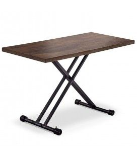 Table basse relevable gain de place en bois Folk -
