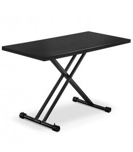 Table basse noir relevable gain de place Folk