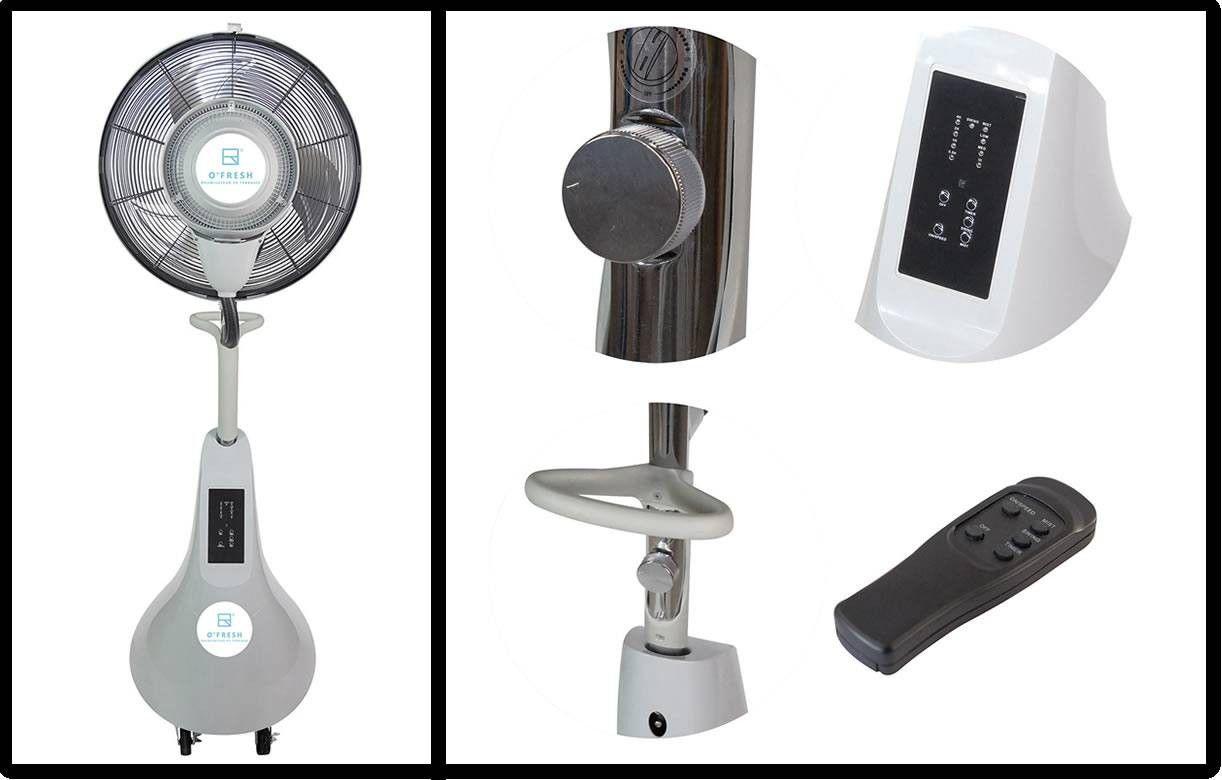 ventilateur brumisateur design haute performance o 39 fresh 170cm. Black Bedroom Furniture Sets. Home Design Ideas