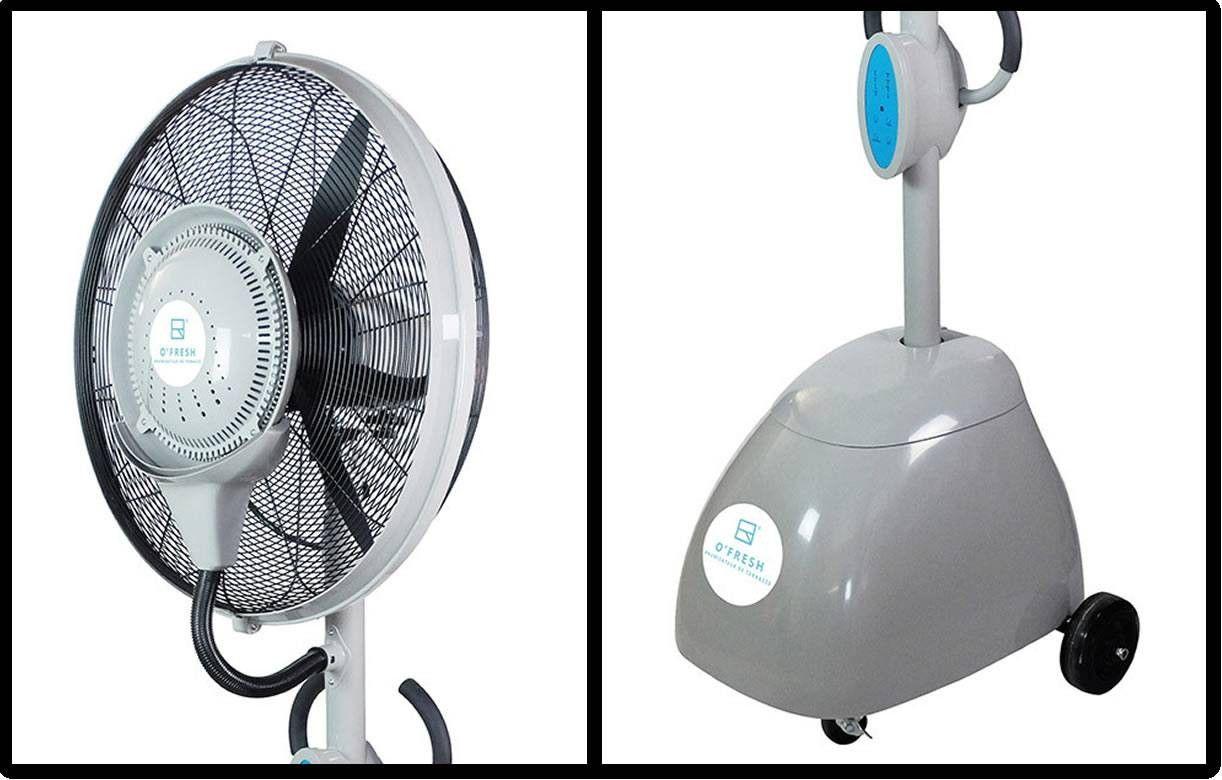 Brumisateur ventilateur ext rieur design professionnel o for Ventilateur exterieur