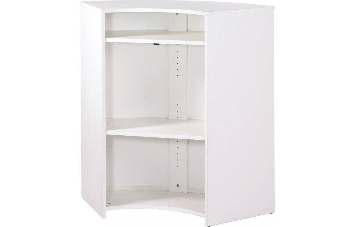 Meuble Mini Bar D Angle meuble bar de cuisine ou accueil comptoir blanc