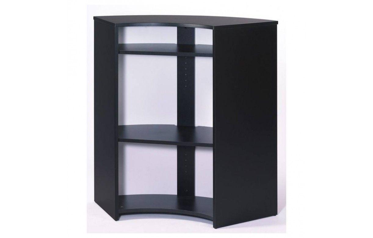 Meuble comptoir bar noir ou blanc imitation mur briques - Meuble comptoir bar professionnel ...