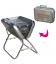 Barbecue pliable Valise en inox Sunvibes