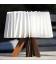 Lampe d'extérieur sans fil à poser en bois Sunvibes