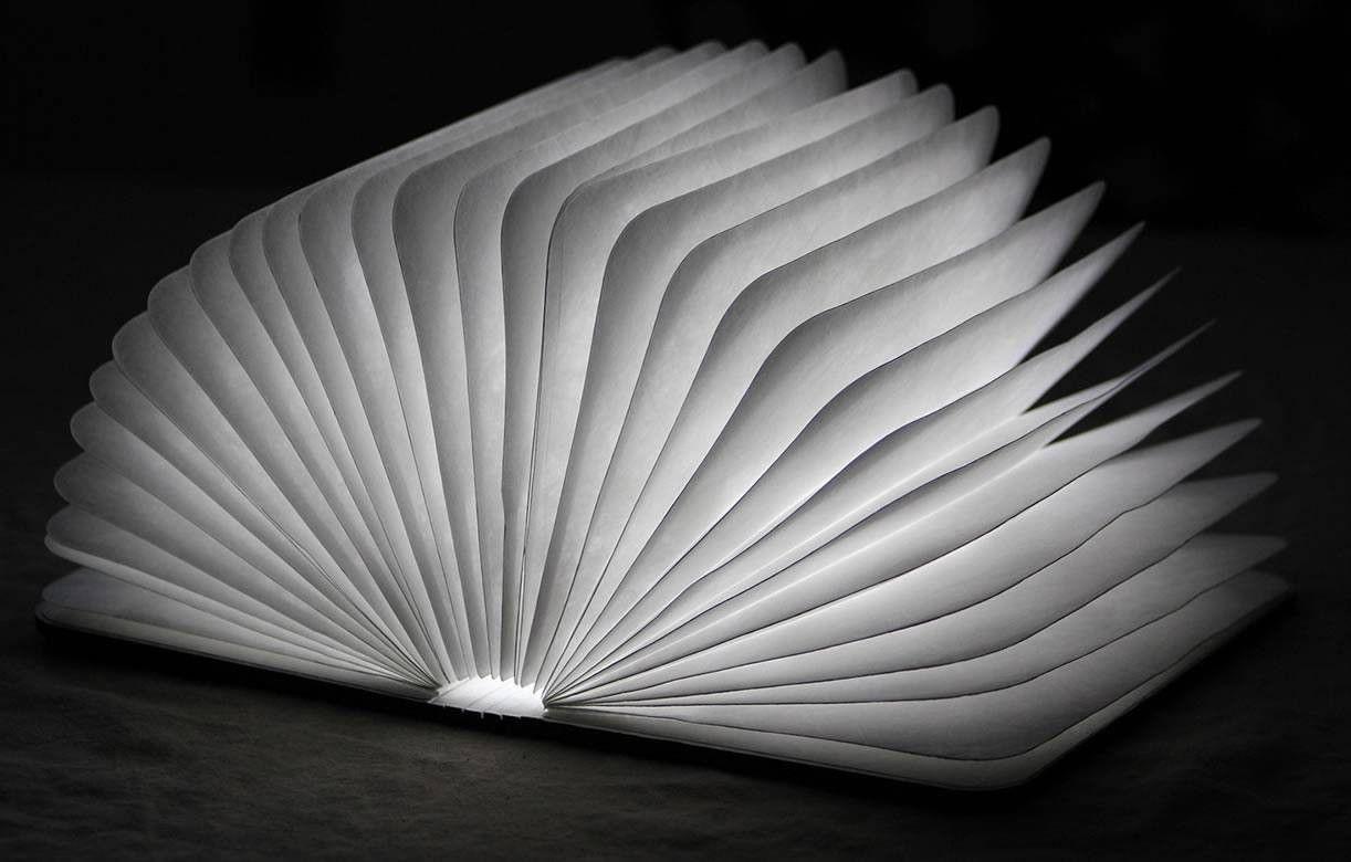 Lampe D Exterieur Sans Fil Livre Lumineux En Bois Sunvibes
