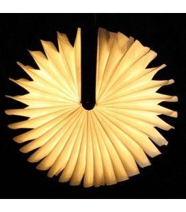 Lampe d'extérieur sans fil Livre Lumineux en bois Sunvibes