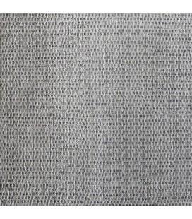 Rouleau adhésif décoratif mural - 45 x 200 cm - Lin - argent -