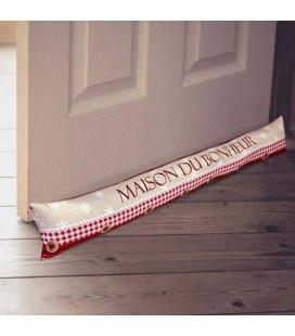 Coussin de porte / Boudin - Maison du bonheur -