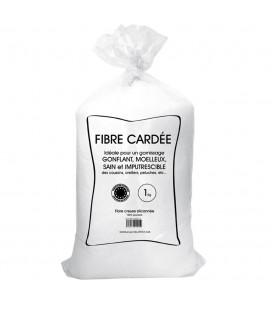 Balle de fibre - Anti-acarien - 1 kg -