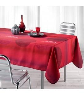 Nappe anti-tache - Rectangle - 150 x 240 cm - Kosmo - Rouge