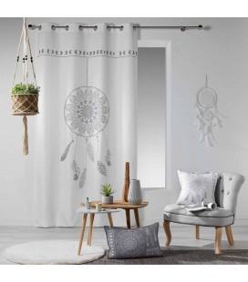 Rideau - Oeillets - 140 x 260 cm - Reveline, attrape-rêves -