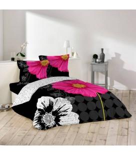escada linge de lit LINGE DE LIT, Coloris Noir   Blanc escada linge de lit