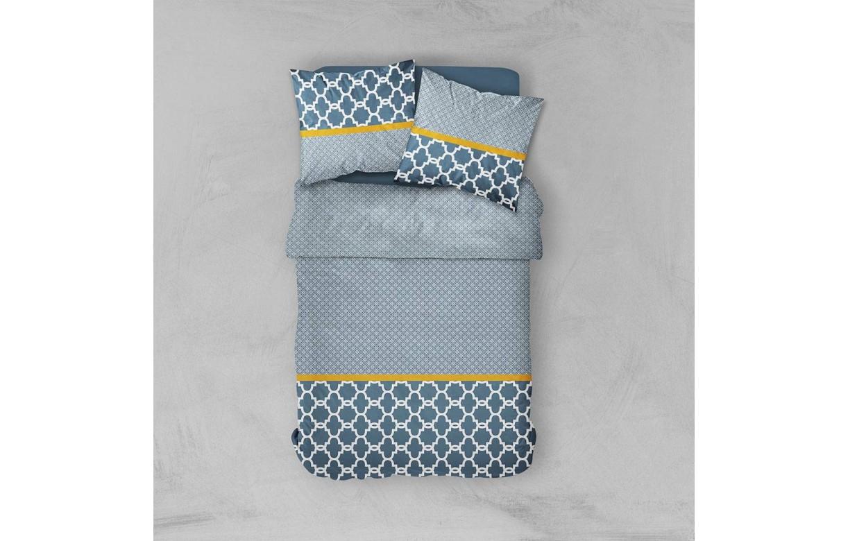 housse de couette 220 x 240 cm taies prusse decome. Black Bedroom Furniture Sets. Home Design Ideas