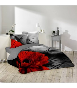 Housse de couette - 220 x 240 cm + taies - Milly -