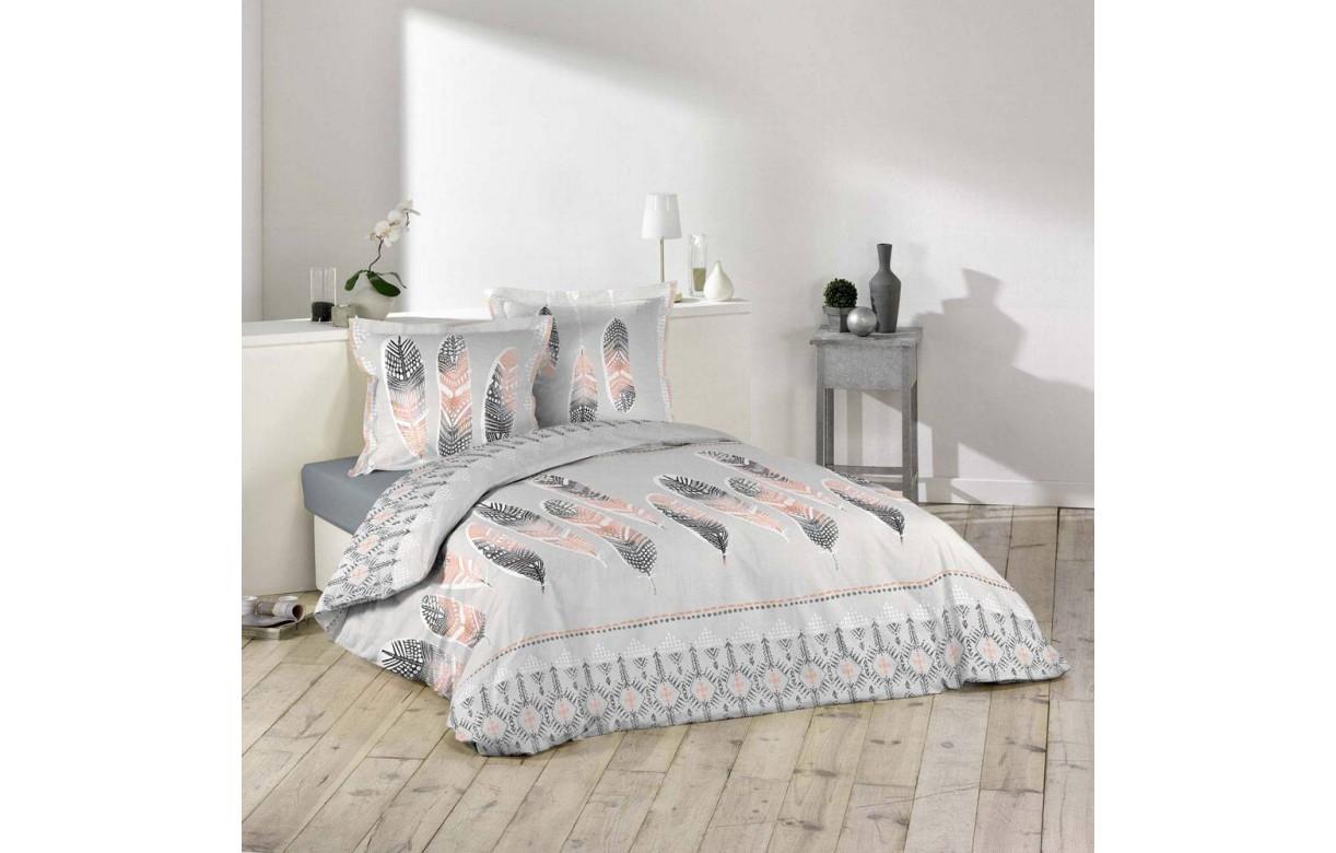 housse de couette 220 x 240 cm taies plume thnique. Black Bedroom Furniture Sets. Home Design Ideas