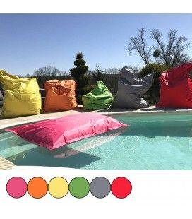 Coussin géant flottant pour piscine 140x180cm Maxi - 10 coloris
