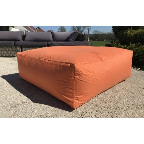 maxi coussin de sol orange gris ou violet 90 x 90 cm decome store. Black Bedroom Furniture Sets. Home Design Ideas