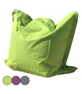Coussin géant extérieur vert violet ou gris Big Bag