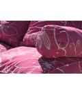 Coussins pour palette rose fushia à motifs - Ensemble complet -