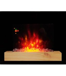 Cheminée électrique imitation feu Fire Wood -