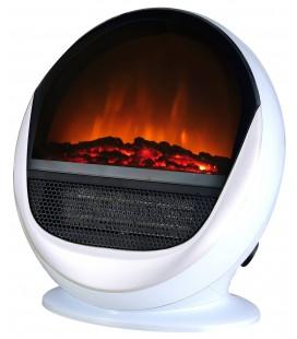 Cheminée électrique blanche Pop Fire -