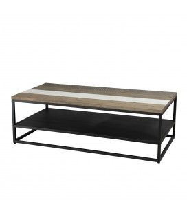 Table basse avec tablette gamme MATEO -