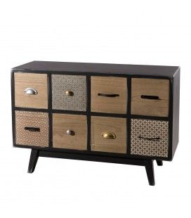 Commode 8 tiroirs gamme LEON -
