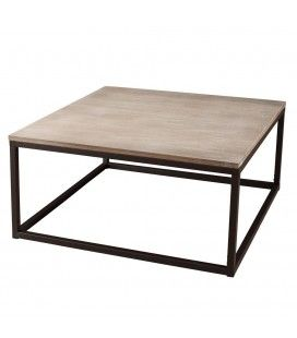 Table basse 90 x 90 cm gamme LEA -