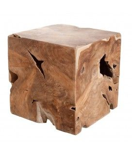 Cube bois nature gamme WALLY -