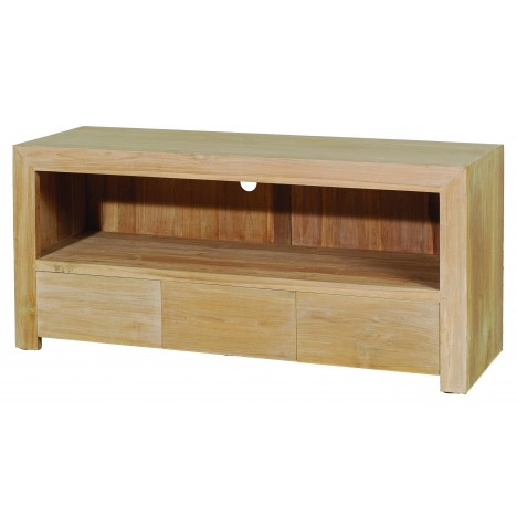 Meuble tv 3 tiroirs pm gamme INES -