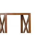 Etagère 40 cm 4 cases croisillons gamme LAUREN -