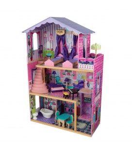 Maison de poupées rose et violette - Kidkraft 65082