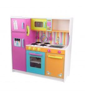 Cuisine pour enfant avec frigo, four et évier amovible