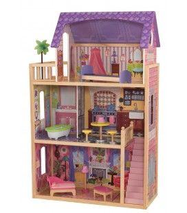 Maison de poupées en bois 3 étages